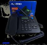 Telefone Rural Aquario adaptado para telemensagem