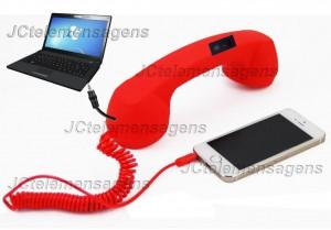 coco phone adaptado para telemensagem, telemensagens
